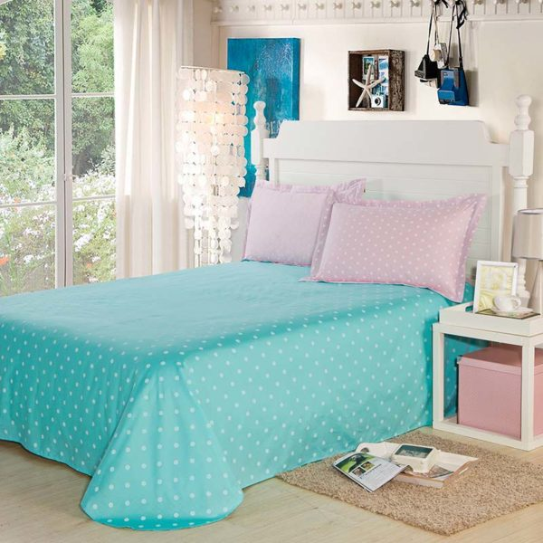 Chic Dots Cotton Bedding Set 4 600x600 - Chic Dots Cotton Bedding Set