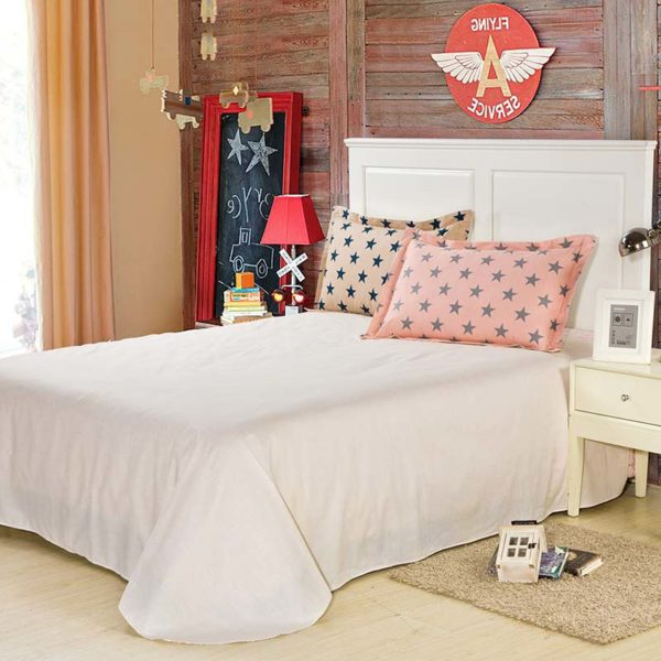Classy Light Grey And Pink Cotton Bedding set 4 600x600 - Classy Light Grey And Pink Cotton Bedding set
