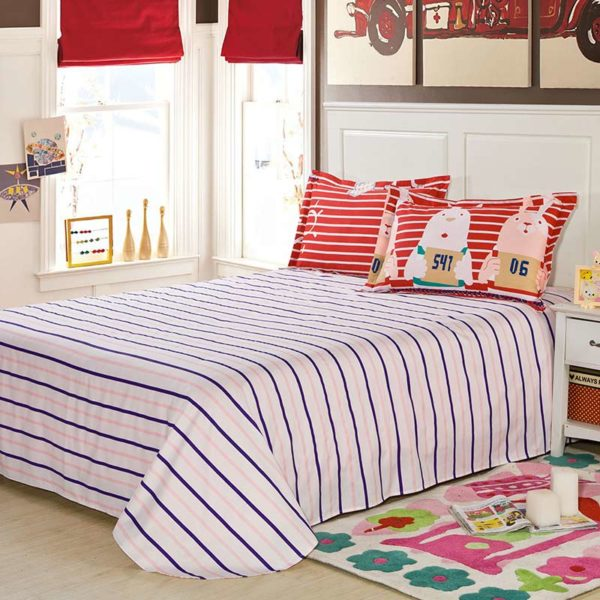 Colorful Blue And Red Pg Themed Cotton Bedding Set 4 600x600 - Colorful Blue And Red Pg Themed Cotton  Bedding Set