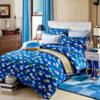 Cool Aqua Cotton Bedding Set 1 100x100 - Cool Aqua Cotton  Bedding Set