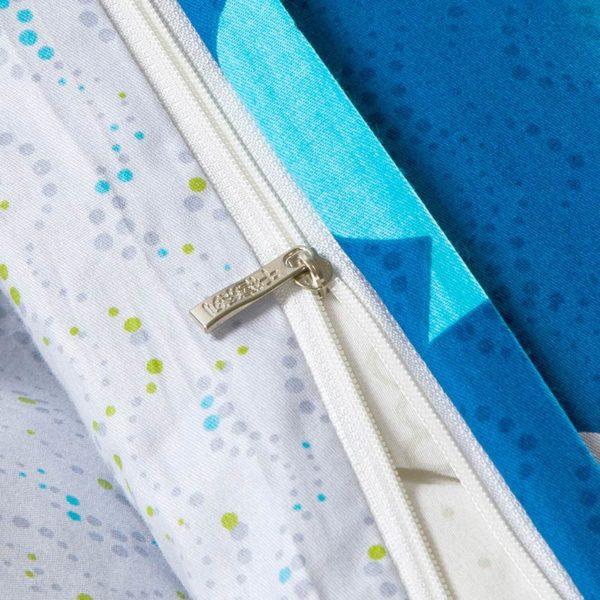 Cool Aqua Cotton Bedding Set 2 600x600 - Cool Aqua Cotton  Bedding Set