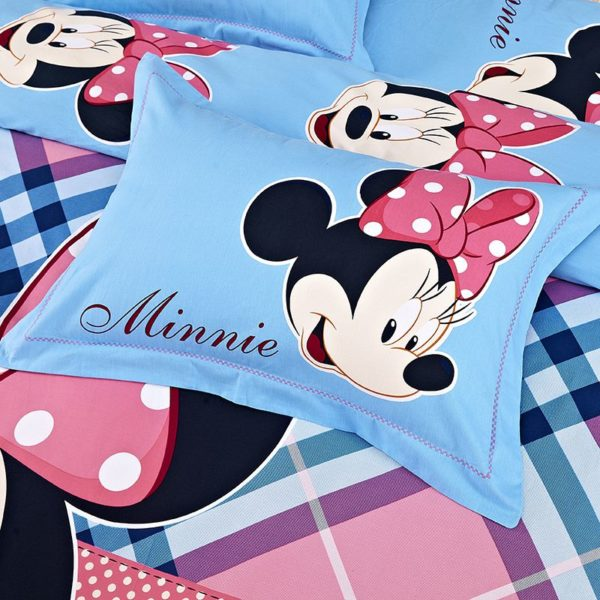 Disney Minnie Mouse Bedding Sets Twin Queen King Size 3 600x600 - Disney Minnie Mouse Bedding Sets Twin Queen King Size