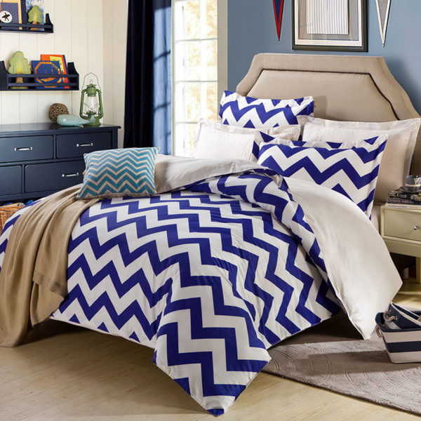 Enthralling White And Blue Cotton Bedding Set 1 600x600 - Enthralling White And Blue Cotton Bedding Set
