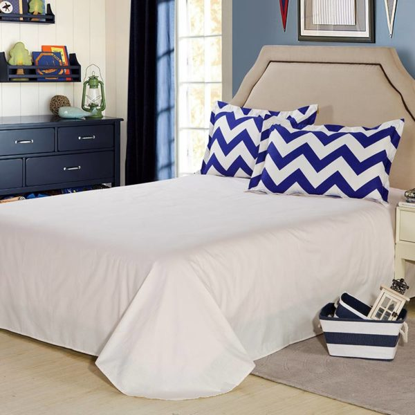 Enthralling White And Blue Cotton Bedding Set 4 600x600 - Enthralling White And Blue Cotton Bedding Set
