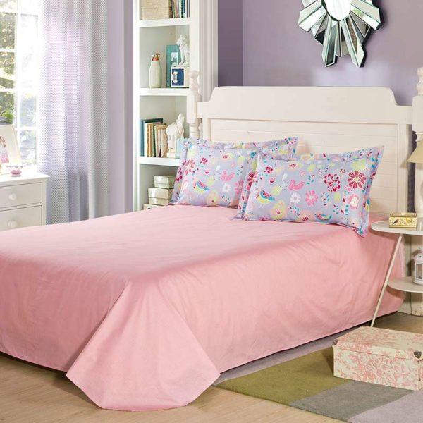 Exquisite Floral Cotton Bedding Set 4 600x600 - Exquisite Floral Cotton  Bedding Set