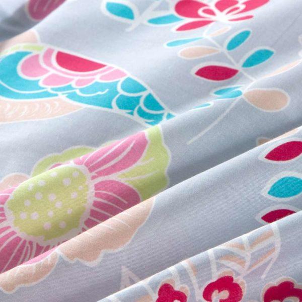 Exquisite Floral Cotton Bedding Set 5 600x600 - Exquisite Floral Cotton  Bedding Set