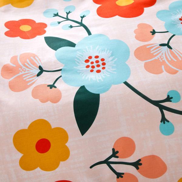 Exquisite colorful Floral Cotton Bedding Set 4