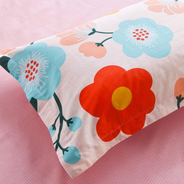 Exquisite colorful Floral Cotton Bedding Set 5