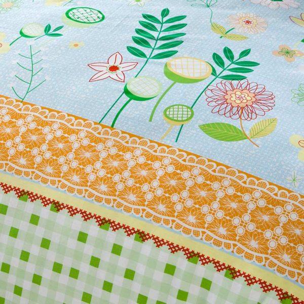 Fantastic Flower Cotton Bedding Set 3 600x600 - Fantastic Flower Cotton Bedding Set