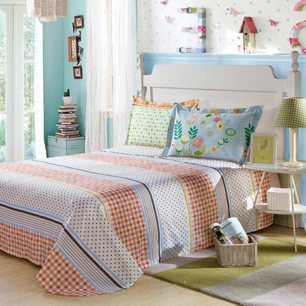 Fantastic Flower Cotton Bedding Set 4 600x600 - Fantastic Flower Cotton Bedding Set