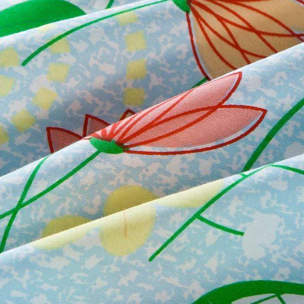 Fantastic Flower Cotton Bedding Set 5 600x600 - Fantastic Flower Cotton Bedding Set