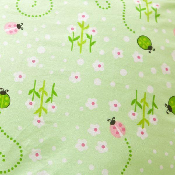 Graceful Light Green Floral Cotton Bedding Set 3 compressed 600x600 - Graceful Light Green Floral Cotton  Bedding Set