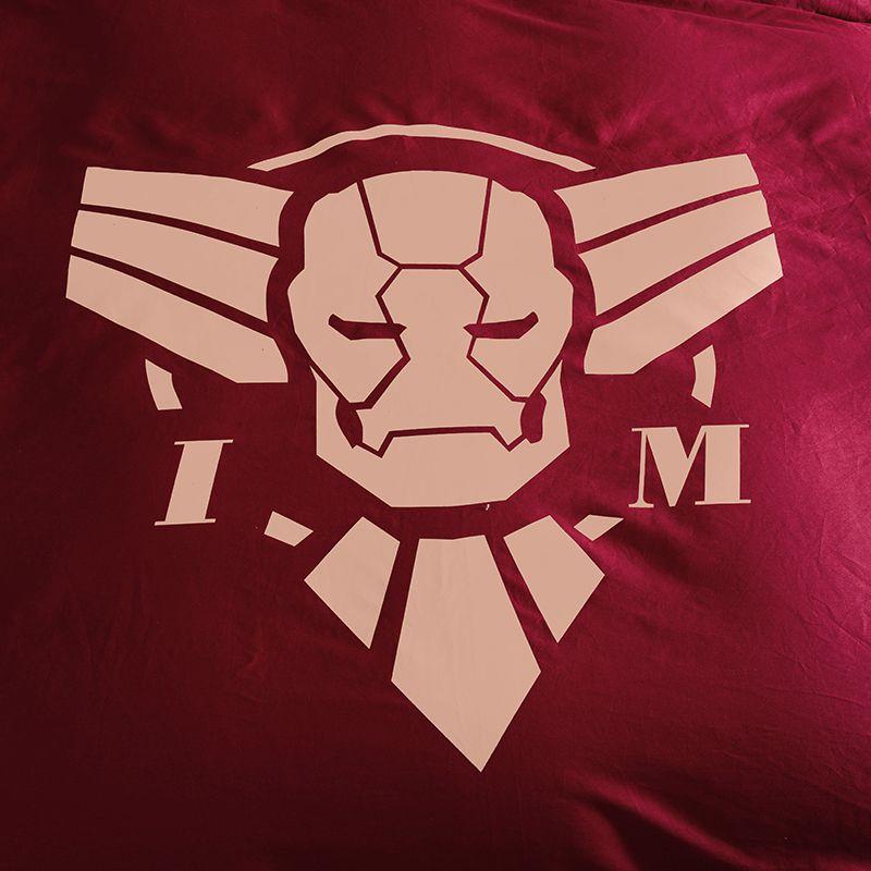 Iron Man Bedding Queen Set Superhero Comforter Set ...