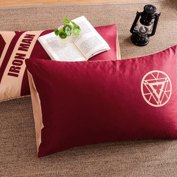 Iron Man Bedding Queen Set Superhero Bedroom Decor 4 600x600 - Iron Man Bedding Queen Set Superhero Bedroom Decor
