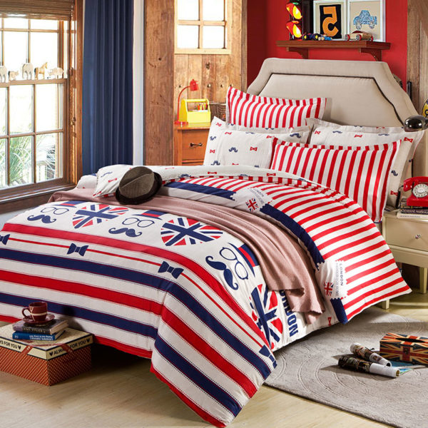 Luxurious London Cotton Bedding Set 1 600x600 - Luxurious London Cotton  Bedding Set