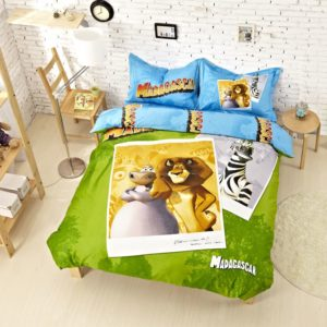 Madagascar Bedding Set Twin Queen King Size