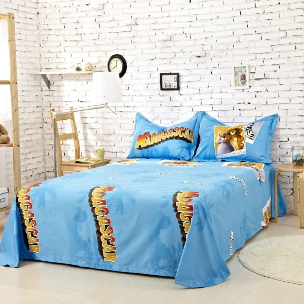 Madagascar Bedding Set Twin Queen King Size 3 600x600 - Madagascar Bedding Set Twin Queen King Size