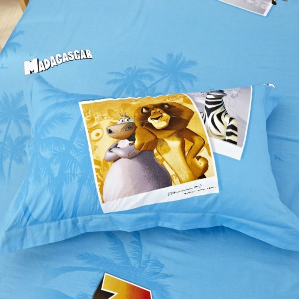 Madagascar Bedding Set Twin Queen King Size 5 600x600 - Madagascar Bedding Set Twin Queen King Size