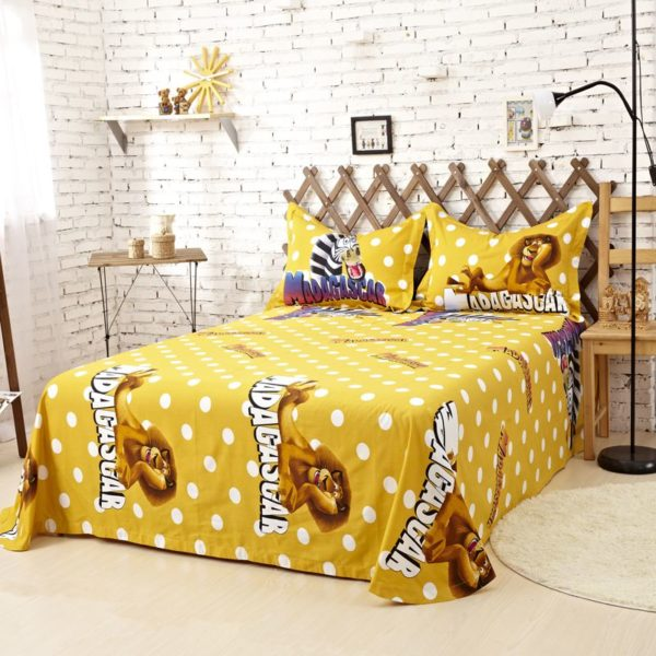 Madagascar Comforter Set Twin Queen King Size 1