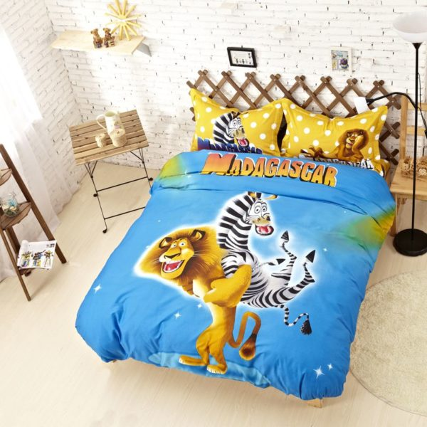 Madagascar Comforter Set Twin Queen King Size