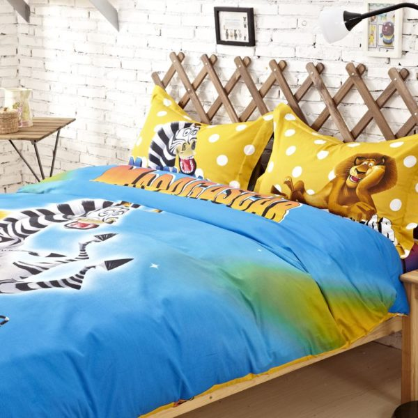 Madagascar Comforter Set Twin Queen King Size 4