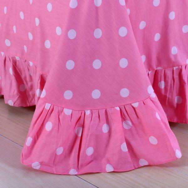 Mermaid Princess Teen Girls Rose Bedding Set 5