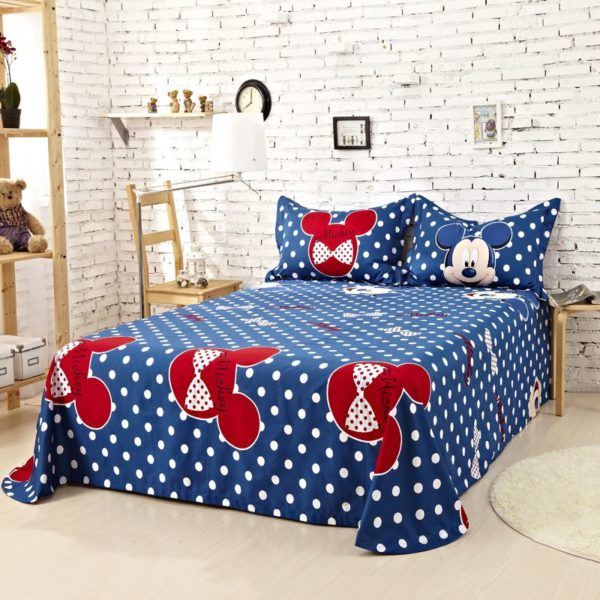 Mickey Mouse Comforter Set Twin Queen King Size 1