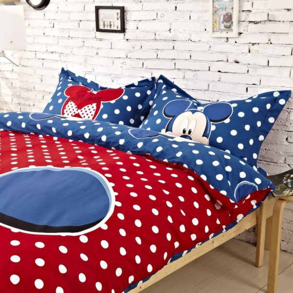 Mickey Mouse Comforter Set Twin Queen King Size 4