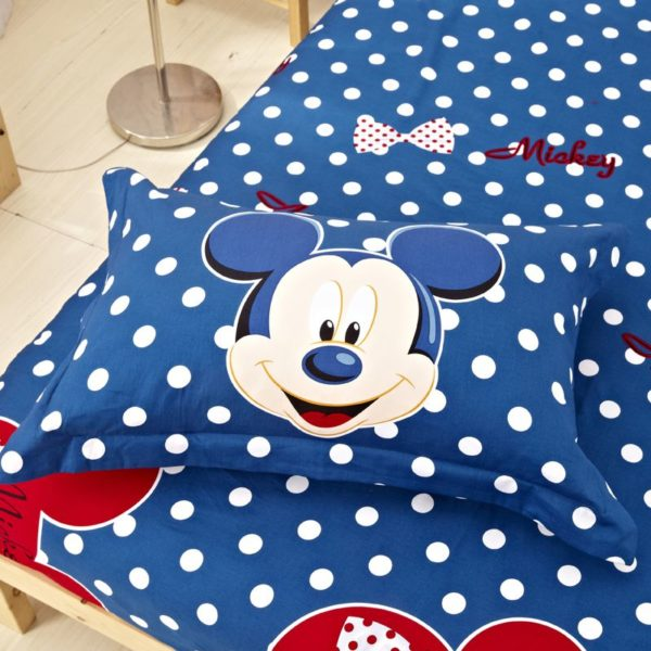 Mickey Mouse Comforter Set Twin Queen King Size