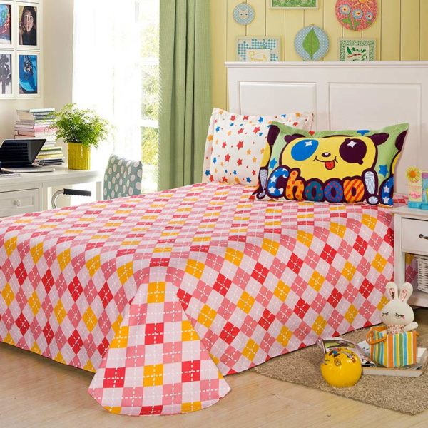 Panda Themed Cotton Bedding Set 2 600x600 - Panda Themed  Cotton Bedding Set