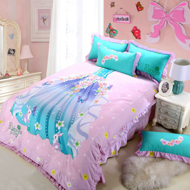 Princess Bedroom Set For Little Girl Pink Bedding