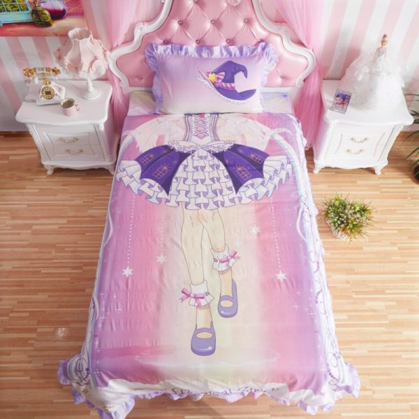 Princess Childrens Comforter Bedding Set - twin-bedding, Without Comforter