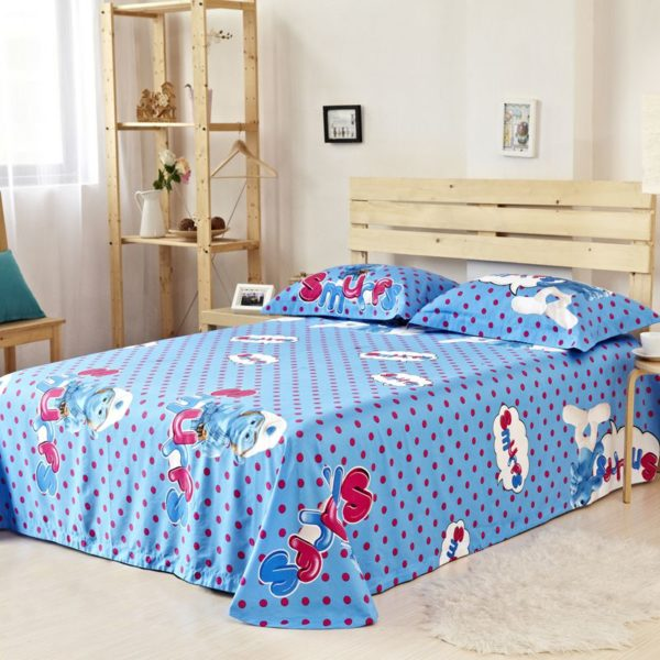 Smurfs Bed Set Twin Queen King Size 1