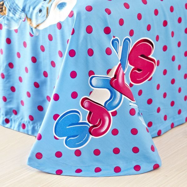 Smurfs Bed Set Twin Queen King Size 5