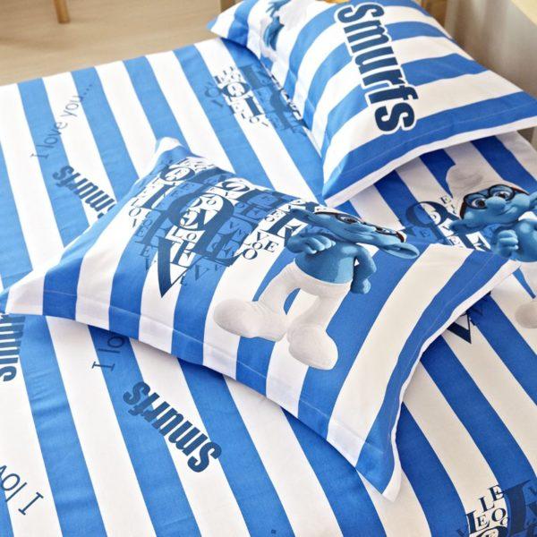 Smurfs Bedding Set Twin Queen King Size 1 600x600 - Smurfs Bedding Set Twin Queen King Size