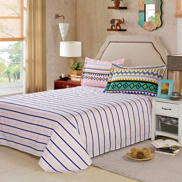 Sophisticated Aztec Themed Cotton Bedding Set 4