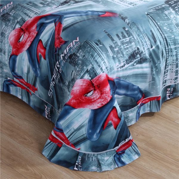 Spiderman Bed Set Twin Queen King Size 4 600x600 - Spiderman Bed Set Twin Queen King Size