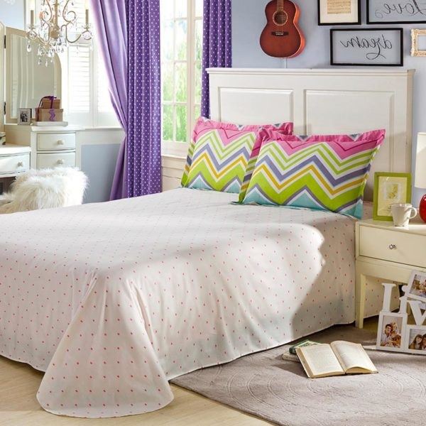 Stylish Multicolored Cotton Bedding Set 4 600x600 - Stylish Multicolored Cotton Bedding Set