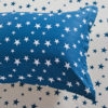 Stylish Stars Blue and White Cotton Bedding Set 2 100x100 - Stylish Stars Blue and White Cotton Bedding Set