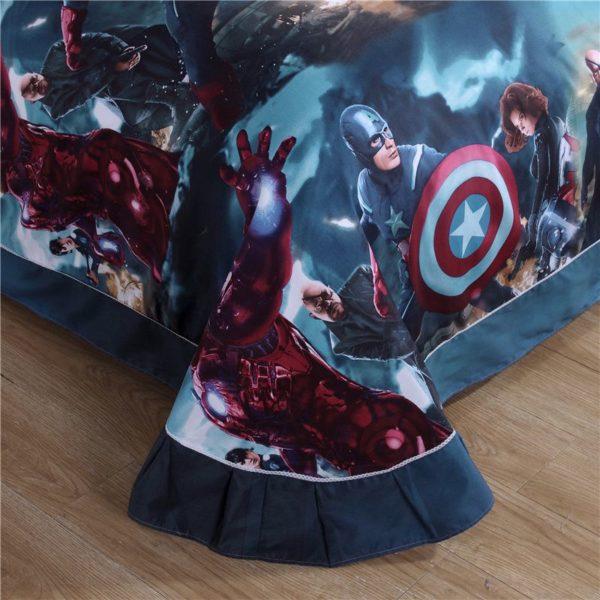 Superhero Bedding Set For Teen Boys Bedroom 2