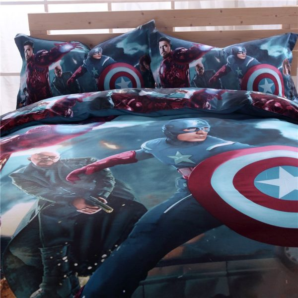 Superhero Bedding Set For Teen Boys Bedroom 4