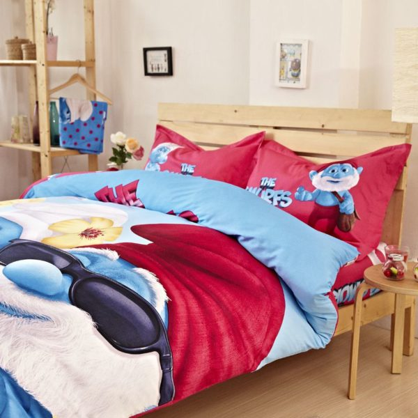 Teen Boys Smurfs Bedding Set 3