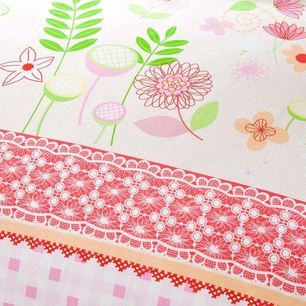 Trendy Floral Cotton Bedding Set 2