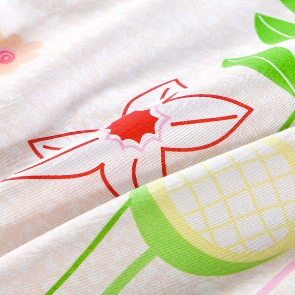 Trendy Floral Cotton Bedding Set 5