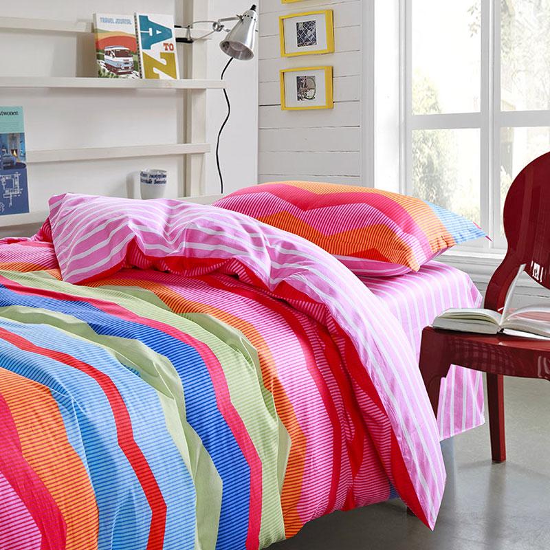 ultra cool multicolor pink and blue cotton bedding set ebeddingsets. Black Bedroom Furniture Sets. Home Design Ideas