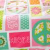 Vibrant and vivid PEACE Cotton Bedding Set 4 100x100 - Vibrant and vivid PEACE Cotton Bedding Set
