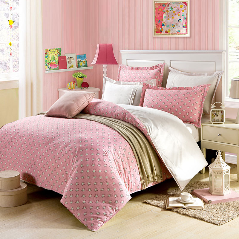 Beautiful star cotton bedding set ebeddingsets for Beautiful bedroom comforter sets