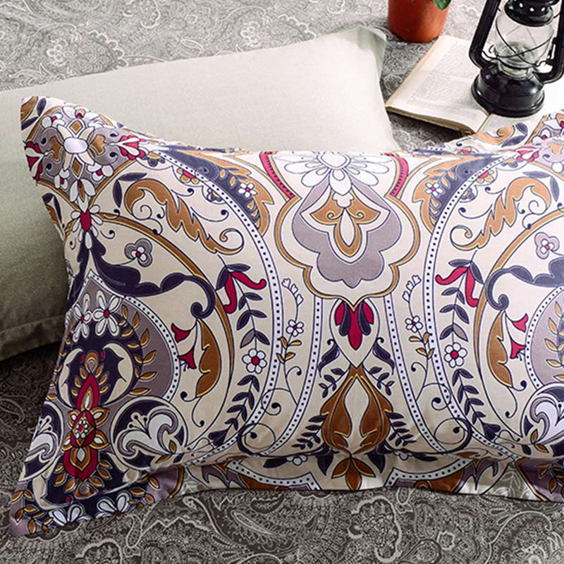 Aesthetic White Cotton Bedding Set Ebeddingsets