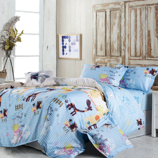 Amazing Animal Printed Cotton Bedding Set 1 600x600 - Amazing Animal Printed Cotton Bedding Set