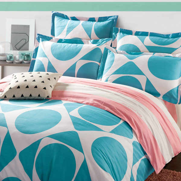 Amazing Geometric Cotton Bedding Set 1 600x600 - Amazing Geometric  Cotton  Bedding Set